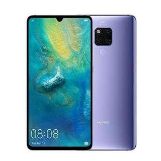 Huawei Mate 20x silver with accessories