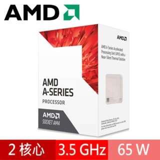 AMD AM4 A6-9500 3.5GHz 雙核心處理器
