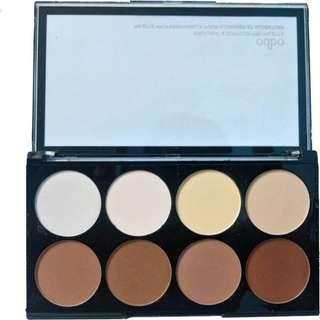 Odbo highlighter and contour pallete