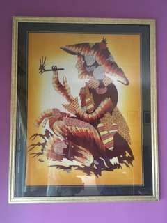 Batik Paintings Collection