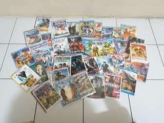 Kaset Film Movie keren DVD Murah