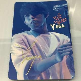 Yoga 林宥嘉 簽名版Yes Card