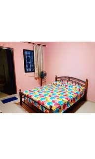 Master room for rent Blk 149 Petir Road Furnished  wifi $600!!