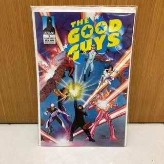 The Good Guys Defiant comics