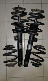 BMW E46 front Eibach Federn Pro-Damper with Pro-kit springs