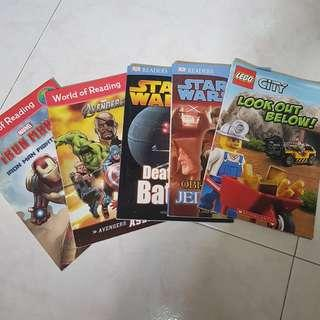 🚚 Lego Reader books for young kids