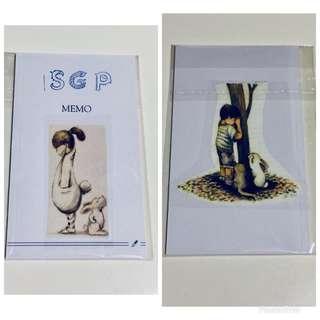 🚚 Brand new SGP Memo Pad