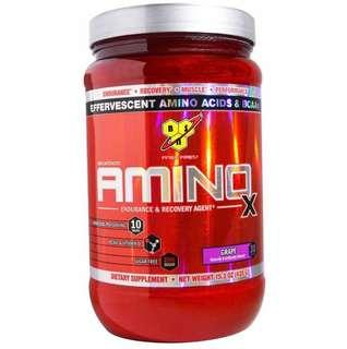 BSN Amino X 胺基酸 持久供應 恢復體力 葡萄味🍇