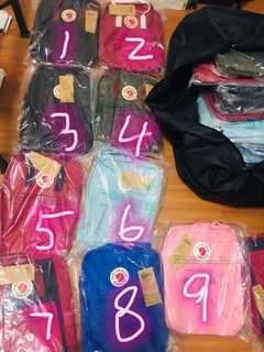 $100 for 5pcs instock kanken school bag