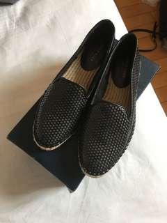 Cole Haan Black Loafer 平底鞋 閃片 Size 7B