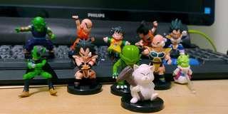Dragon ball figures 龍珠