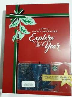"""Starbucks 'Explore Your Year""""  Travel Organizer Siena with Special Edition Card 'Siren's Tail '"""