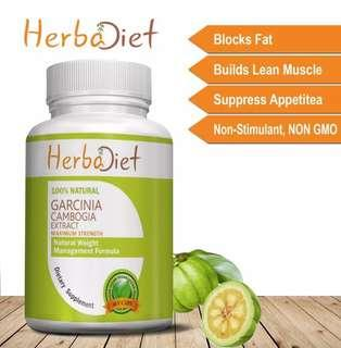 Brand New Slimming Garcinia Cambogia Extract Vegan