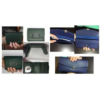Brand new take all for 170 wallet short wallet long wallet green wallet blue wallet