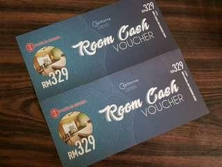 Rooms cash voucher