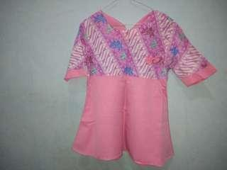 Blouse batik second