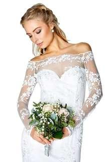 Wedding Dress FREE SHIPPING orig box is not included