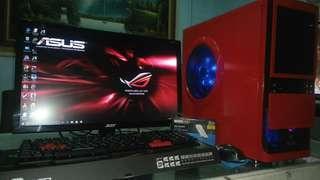 Intel Core i7 gaming desktop set