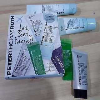 🆕️ Peterthomasroth Jet, Set, Facial Kit! 4-Piece Kit