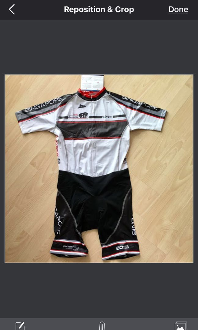 1 piece only - OCBC Cycle Singapore Off-Season Cycling Suit 2013 ... cda96c8a2