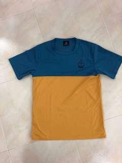 🚚 Iconic yellow/blue PE top for AJC