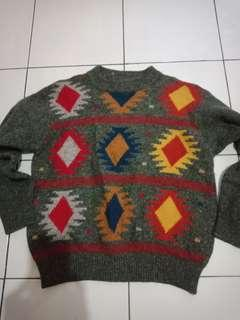 Benetton sweater wool made in italy