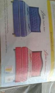 Nyenyak tidur mu dengan bed set Uniland😉