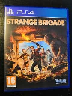 PS4 Used Game Strange Brigade