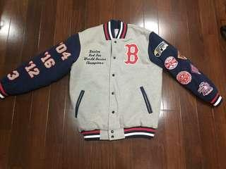Rare Boston Red Sox Championship Jacket with Embroidery