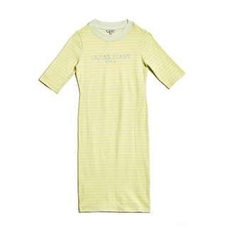 GUESS Half Sleeve ASAP Dress (Yellow)  M(女)