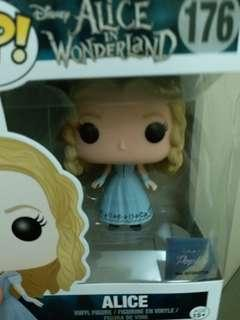 Funko Pop Qposket Alice 愛麗絲Figure