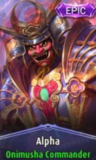 🚚 Mobile Legend looking for alpha epic skin