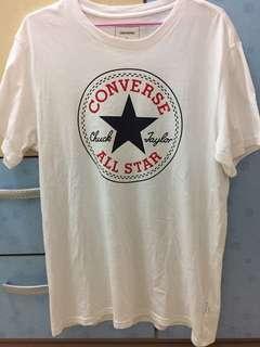 🚚 Converse all star 短袖T恤(9成新)Size:L