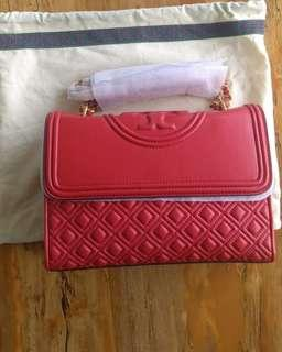 Tory Burch Flemming Red