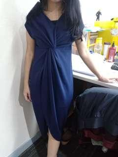 Dress Navy #bersihbersih