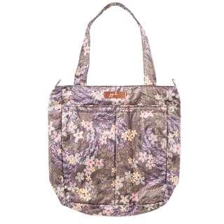 Jujube Be Light Rose Gold Diaper Bag - Sakura at Dusk