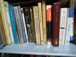 Random Literary Books (5 pcs)