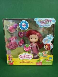 Hasbro Strawberry shortcake berry blend's doll color change magic 士多啤梨 公仔