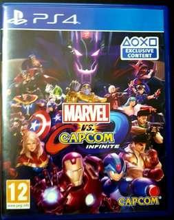Marvel capcom ps4