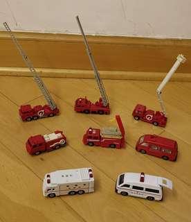 消防車及救護車
