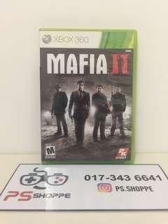 Xbox 360 Mafia 2