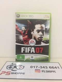 Xbox 360 Fifa 07