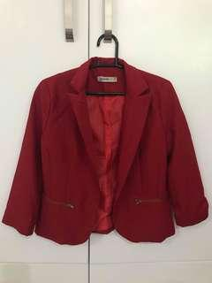 Red Chase Coat