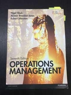 Operation Management (7th Edition)
