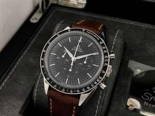 """ORIGINAL OMEGA SPEEDMASTER """"FIRST OMEGA IN SPACE"""" CHRONOGRAPH 41MM"""