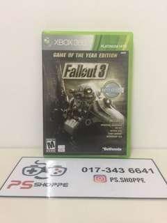 Xbox 360 Fallout 3 GOTY Edition