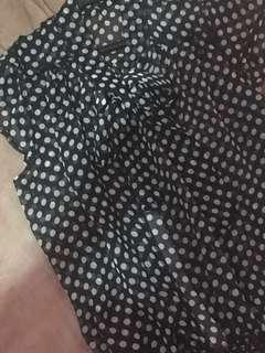 See through polka dots