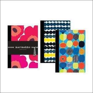 Brand New Marimekko Notebook Collection