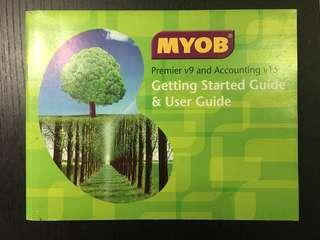 MYOB Guide (Premier v9 and Accounting v15)