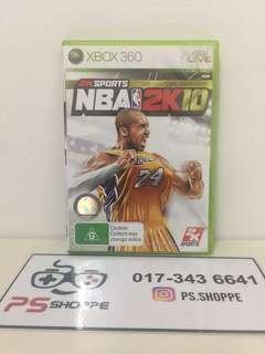 Xbox 360 NBA 2K10